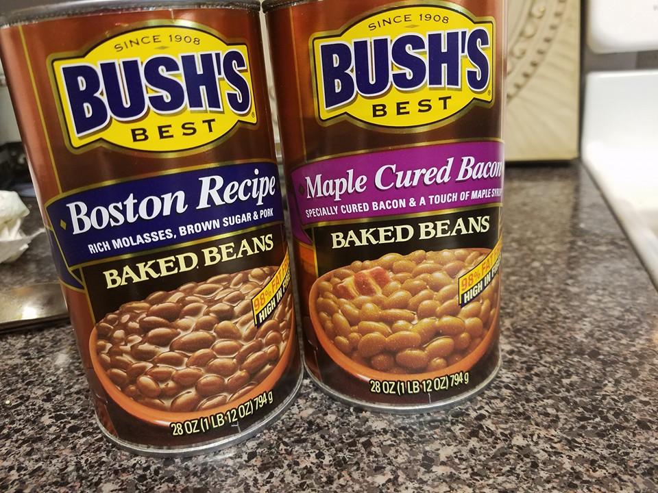 4th of July: Dressed up pork-n-beans