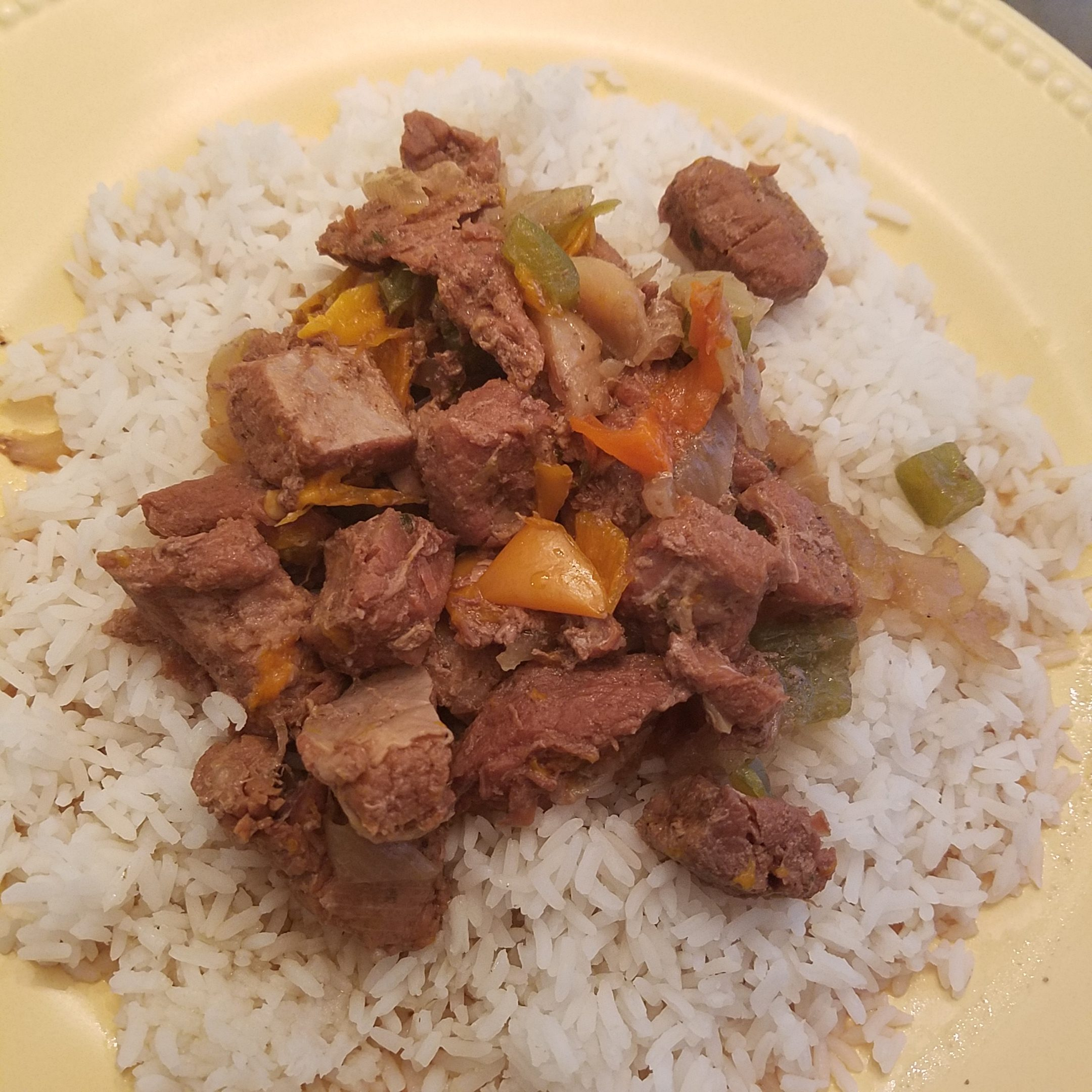Sweet Pepper Beef Recipe