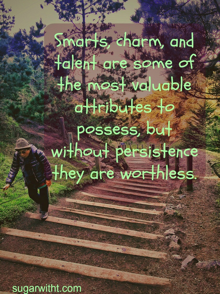 Persistence: Loveable Quote #7